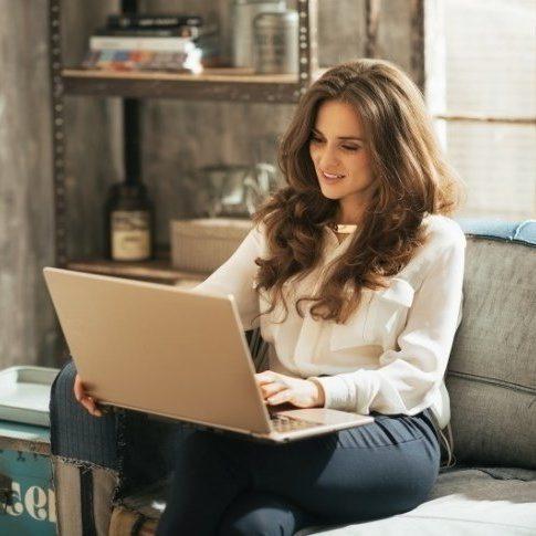 Работа для девушек в интернете на дому